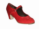Gallardo - Flamenco Dance Shoes: model Mercedes Shoes in Suede