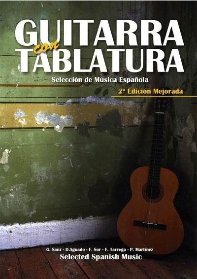 Guitare with Tablature, Selection of Spanish Music