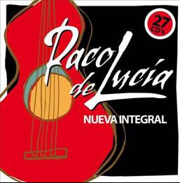 The complete of Paco de Lucía (27 CDs) Reissue 122.60€ #50112UN639
