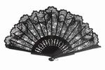 Black Lace Fan for Ceremony. Ref. 494NG 21.980€ #505800494NG