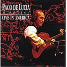 Live in America - Paco de lucia & Sexet