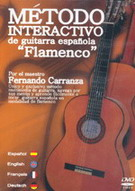 Méthode interactive de la guitare flamenco espagnole. DVD. PAL