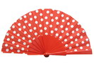 Ploka Dots Fan With Red Background and White Polka Dots 3.510€ #50032Y480FROJO