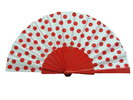Polka Dots Fan With White Background And Red Polka Dots 3.510€ #50032Y480LROJO
