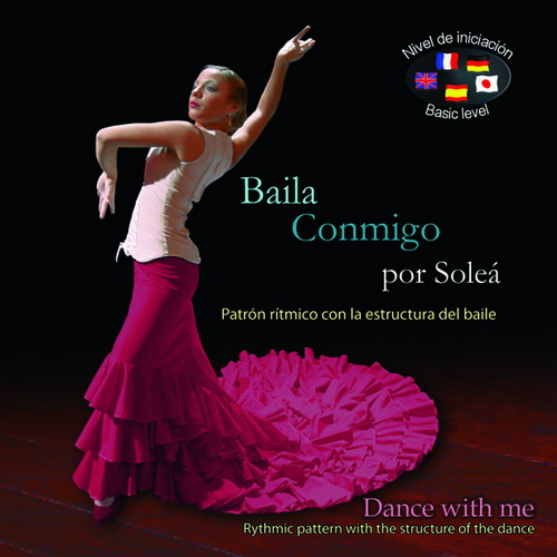 Instruction CDs series ''Dance with me'' by Soleá