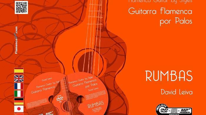 Flamenco Guitar by Styles. Rumbas. (DVD/CD/Book).David Leiva