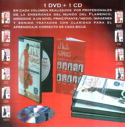 Manuel Salado: collection complète. La danse flamenco en 10 volumes.